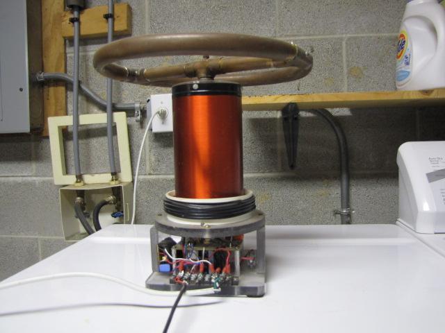 Tesla radio transmitter