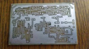 PHASING RECIEVER CIRCUIT BOARD
