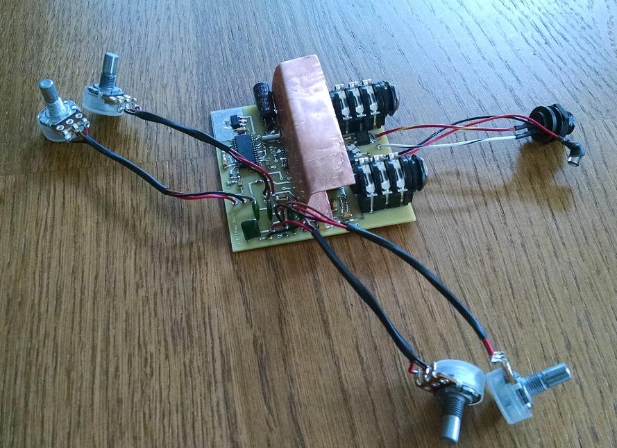 Passive Tonecontrol Circuit Circuit Diagram Tradeoficcom