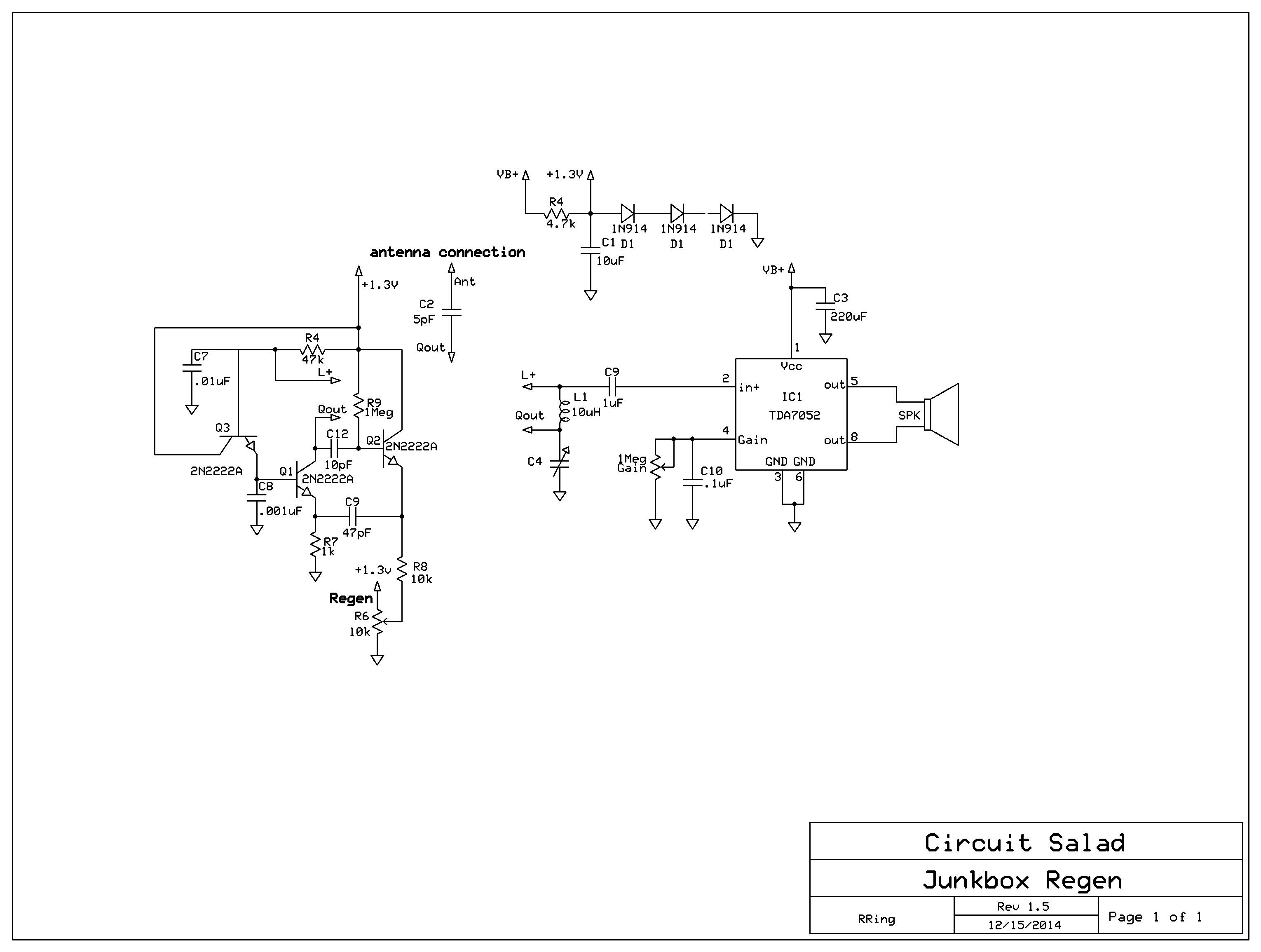 Yet Another Variant Of The Junk Box Regen This One Is Really Weird Radio Circuit 2222a Rev3