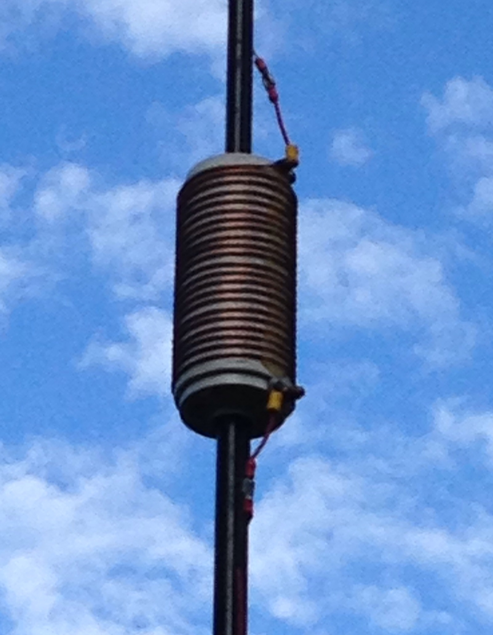 Efficient Portable Ground Mounted Vertical Antenna for 40 Meters