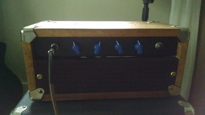 completed amp head