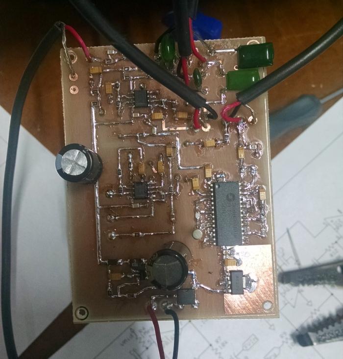 hybrid amp circuit board