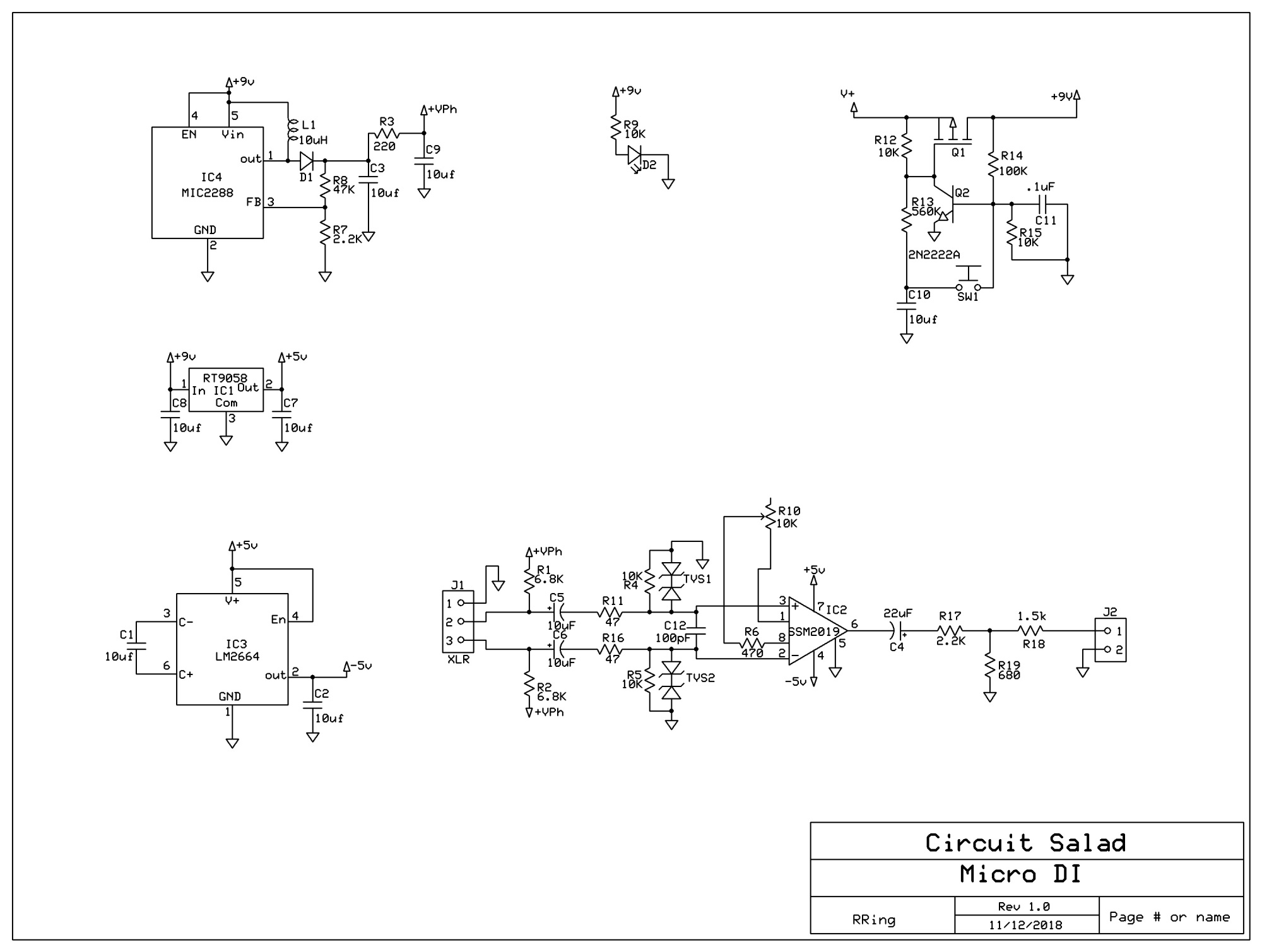 circuit salad electronics from conception to completion